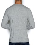 C-IN2 Base Layer Long Sleeve Crew Earl Grey Heather, view 2
