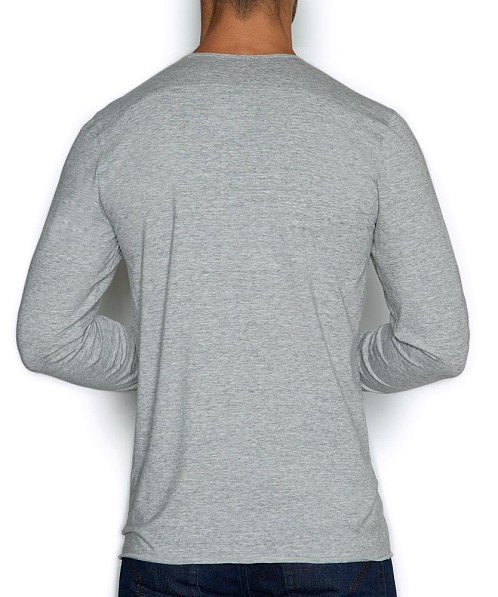 C-IN2 Base Layer Long Sleeve Crew Earl Grey Heather