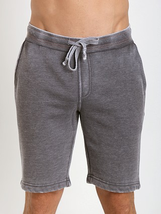 Projek Raw Burn Out Fleece Shorts Grey