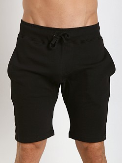 Projek Raw Gusset Crotch Fleece Shorts Black