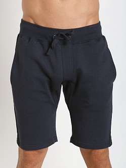 Projek Raw Gusset Crotch Fleece Shorts Navy