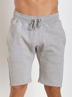 Projek Raw Gusset Crotch Fleece Shorts Grey Heather