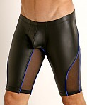 Rick Majors Dark Mode Shorts Black/Royal, view 3
