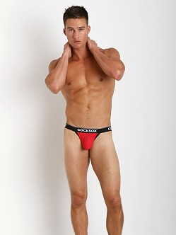 CockSox Enhancer Pouch Bikini Briefs Diablo Red