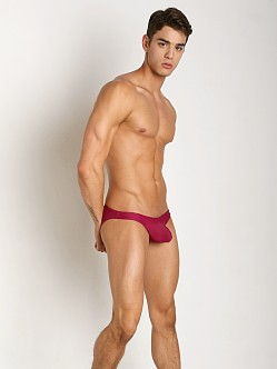 CockSox Enhancing Pouch Swim Brief Shiraz Wine