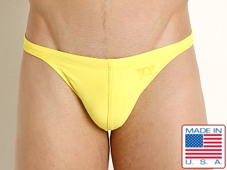 LASC Super Low Rise Swim Brief Yellow Sun