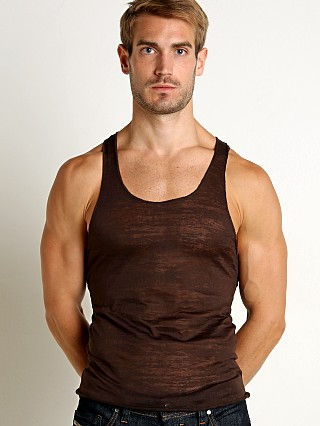Complete the look: LASC Burn Out String Tank Brown