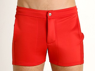 Complete the look: LASC Retro Coach's Short Red