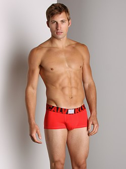 Calvin Klein X Micro Low Rise Trunk Crimson