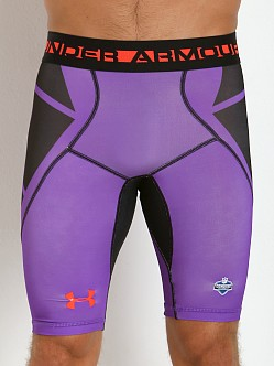 Under Armour NFL Combine Compression Short Pride Purple