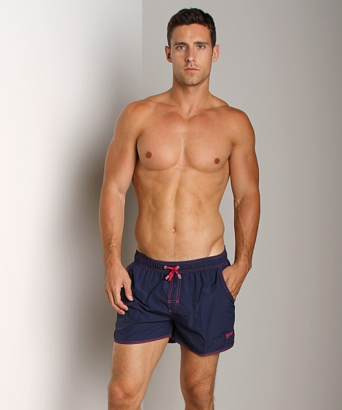 Hugo Boss Lobster Swim Shorts Navy