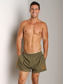 Hugo Boss Male Swim Shorts Military