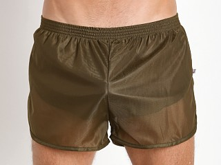 Complete the look: American Jock 70's Retro Featherweight Running Shorts Army