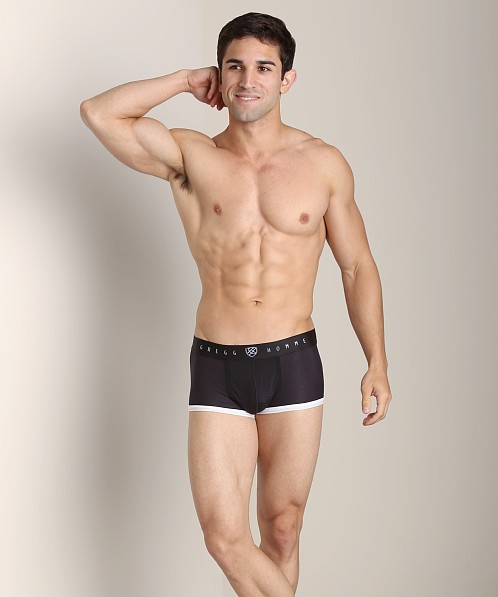 Gregg Homme Gentlemen Modal Boxer Brief Black
