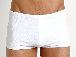 Emporio Armani Core Lux Swim Trunk White