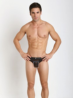 Gregg Homme Mesh Encore Waistband Briefs Black