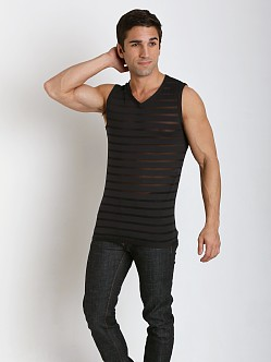 Gregg Homme Mesh Encore Muscle Shirt Black