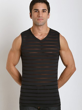 Complete the look: Gregg Homme Mesh Encore Muscle Shirt Black