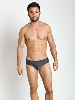 CA-RIO-CA Brief Cut Brazilian Sunga Dark Grey