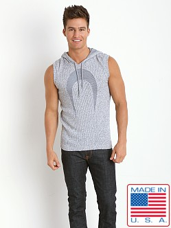 Pistol Pete Omega Sleeveless Hoody Gray