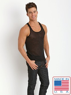 Pistol Pete Knight Mesh Tank Top Black