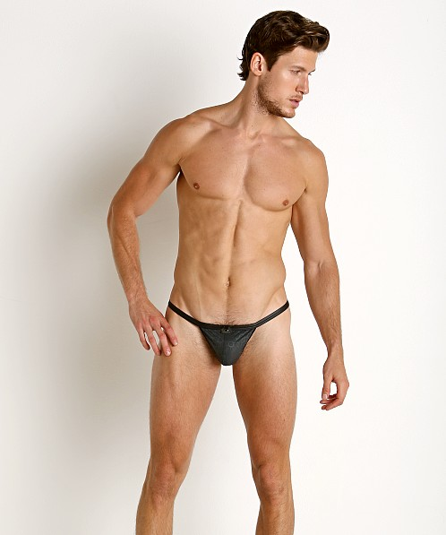 Gregg Homme Redline Rubber Look G-String Black