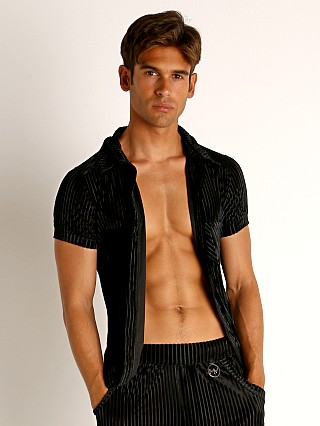 Complete the look: Modus Vivendi Tiffany's Velvet Mesh Shirt Black