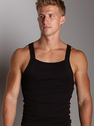 2xist Form Square Cut Tank Top Black