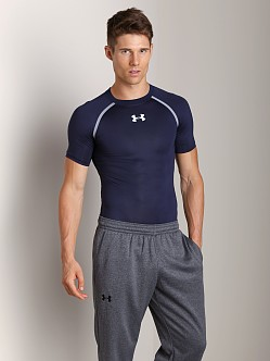 Under Armour Heatgear Dynasty Compression T Midnight Navy