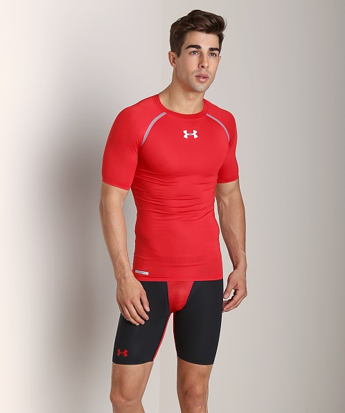 Under Armour Heatgear Dynasty Compression T Red