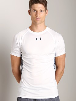 Under Armour HeatGear Flyweight Shortsleeve T White