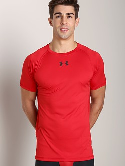 Under Armour HeatGear Flyweight Shortsleeve T Red