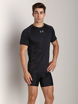 Under Armour HeatGear Flyweight Shortsleeve T Black