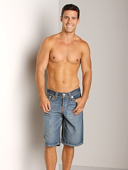 True Religion PCH Denim Shorts Manhattan