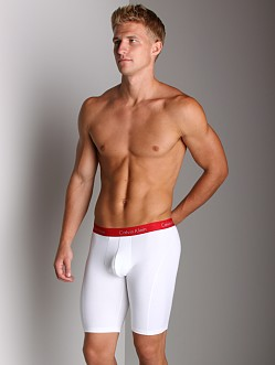 Calvin Klein Pro Stretch Cycle Short White
