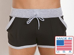 Pistol Pete Excel Gym Short Black/Grey