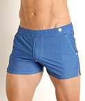 Modus Vivendi Jeans Line Swim/Walk Short Blue, view 3