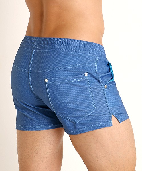Modus Vivendi Jeans Line Swim/Walk Short Blue