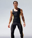 Rufskin Krypto Anatomic Sport Tank Top Black, view 1