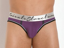 Private Structure Rayon Crayon Low Rise Brief Deep Purple