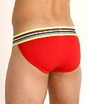 Modus Vivendi Peace Line Sports Brief Red, view 4