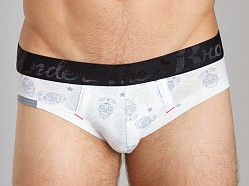 Diesel Under The Brave Andre Briefs White