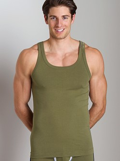 Diesel Industries Bale Tank Top Hunter Green