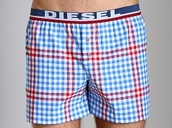 Diesel Luv Boxers Blue/Red