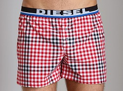 Diesel Luv Boxers Red/Black