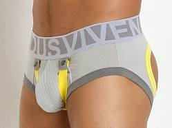 Modus Vivendi Bear Boost Backless Brief Grey