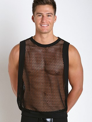 Complete the look: Modus Vivendi French Mesh Croise Muscle Tank Black