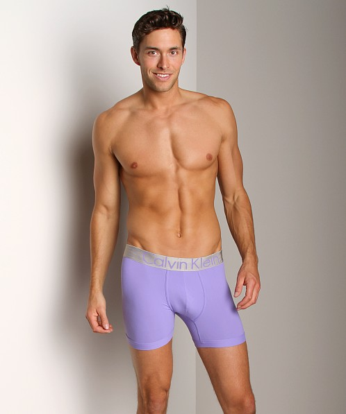 Calvin Klein Steel Micro Boxer Brief Grape Sorbet