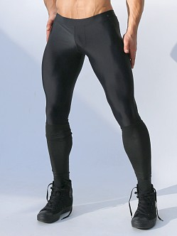 Rufskin Tom of Finland Thorpe Leggings with Latex Black