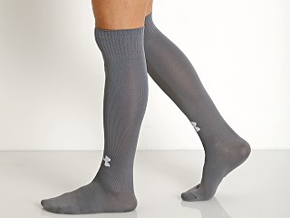 Under Armour Soccer Solid Over-the-Calf Socks Graphite